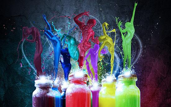цветные картинки: